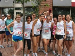 Elysianettes raced the 2010 Party with a Purpose race for charity...and adult beverages!