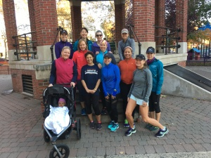 Saturday morning group Nov 2016